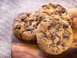 кето печенье с шоколадом