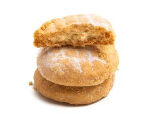 Кето миндальное печенье