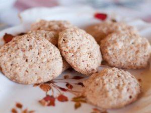 Простое кето печенье