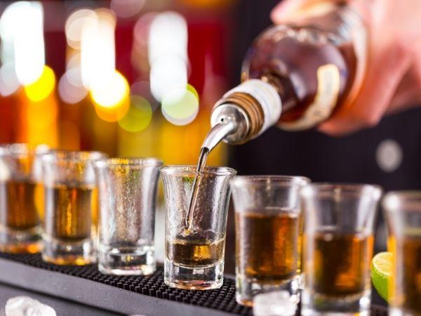 Крепкий алкоголь на кето