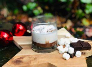 Шоколадно-кокосовый кето белый русский