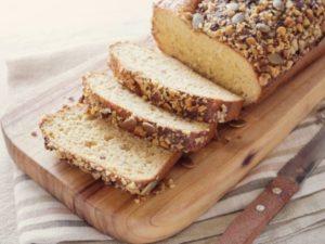 Миндальный безуглеводный хлеб