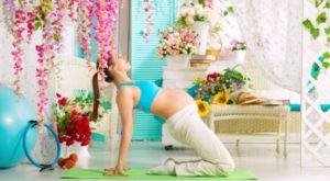 Как похудеть во время беременности без вреда для ребенка упражнения