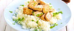 Веганская кето диета - тофу