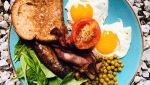 Кето фул инглиш завтрак