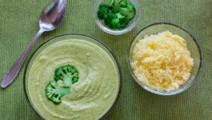 Кето супы рецепты - суп из брокколи с сыром