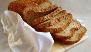 Кето хлеб из льняной муки в хлебопечке