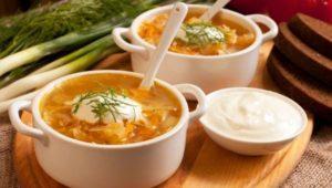 Кето супы - рецепты кислых щей