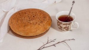 Кето хлеб из льняной муки