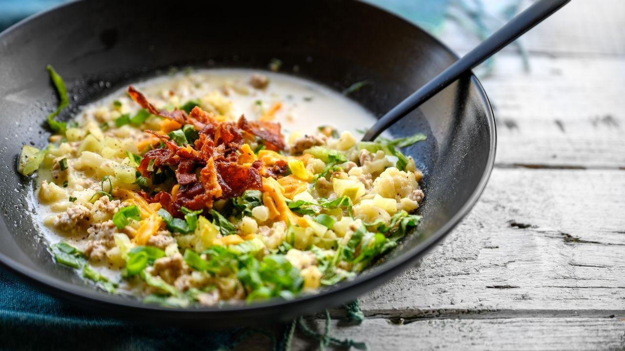 Кето супы рецепты