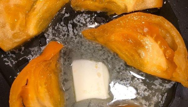 Обжариваем помидоры - пп завтраки рецепты