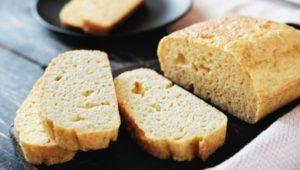Кето хлеб на миндальной муке